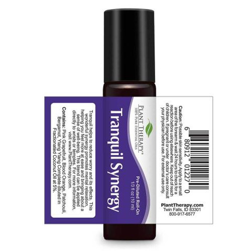 Tranquil Synergy Essential Oil 10ml ROLL ON by Plant Therapy