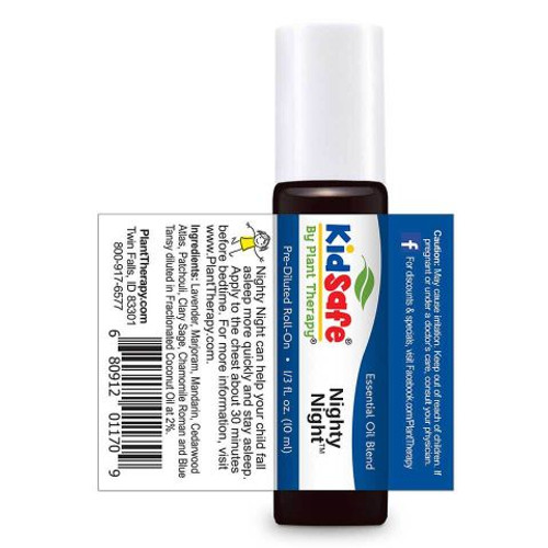 Kidsafe Nighty Night Essential Oil 10 mL Roll On by Plant Therapy