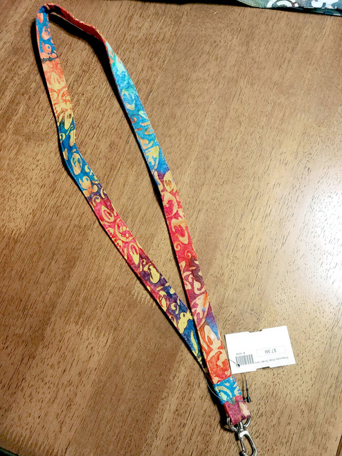Cotton Wrap Scrap Lanyard