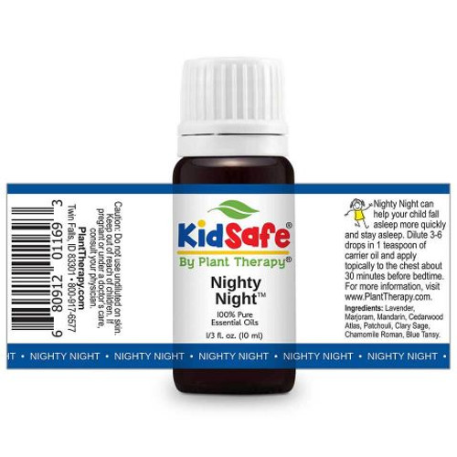 Nighty Night KidSafe Essential Oil 10 Ml by Plant Therapy