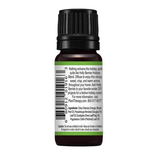 Holly Berries Holiday Blend 10 mL by Plant Therapy