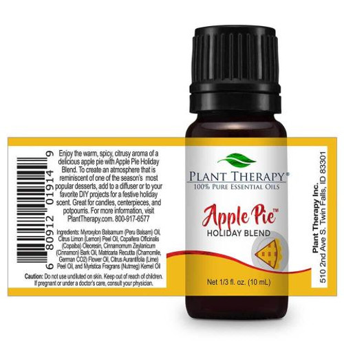 Apple Pie Holiday Blend 10 mL by Plant Therapy