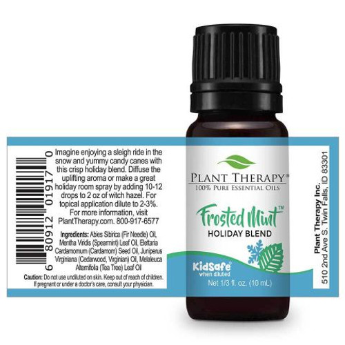 Frosted Mint Holiday Blend 10 mL by Plant Therapy