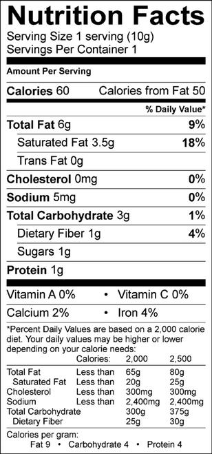 83% Cacao Pure Dark Bite Organic Chocolate