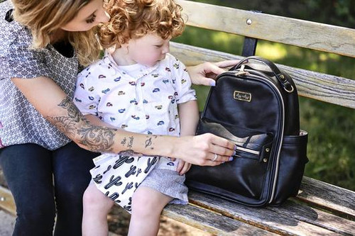 Mini Black Backpack by Itzy RItzy