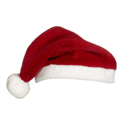 Santa Hat for a Cubbie Embroidered Plush