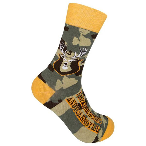 I like Big Bucks and I Cannot Lie by Funatic Socks