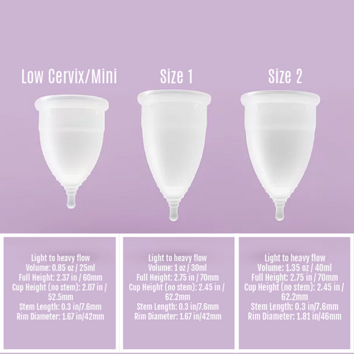Ultucup Menstrual Cup Low Cervix/Mini