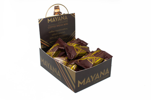Half Size Coffee Break Candy Bar by Mayana Chocolate