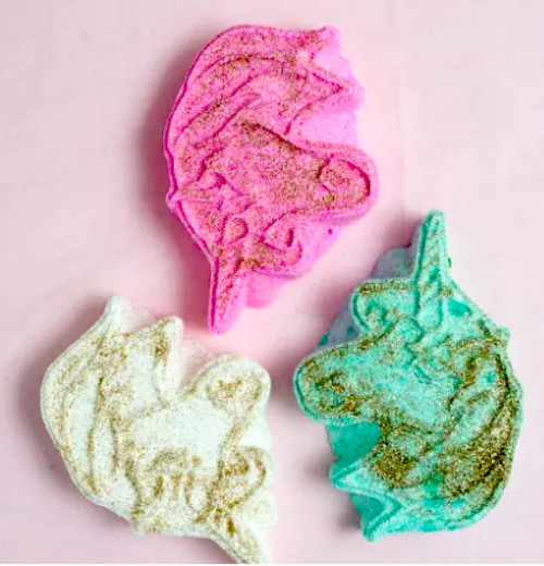 Unicorn Head Bath Bomb Random Color by Feeling Smitten
