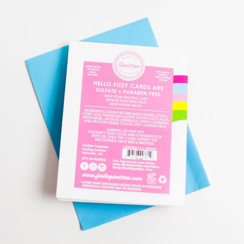 Shell Yea! Bath Bomb Greeting Card by Feeling Smitten