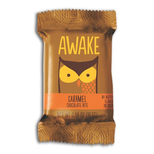 Awake Caffeinated Chocolate Caramel Bites