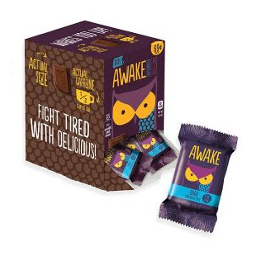 Awake Caffeinated Dark Chocolate Bites