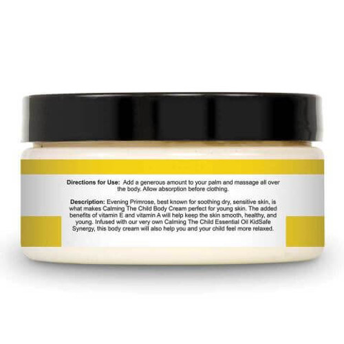 Calming The Child KidSafe Body Cream 8 oz by Plant Therapy