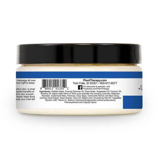 Nighty Night Body Cream 8 oz by Plant Therapy