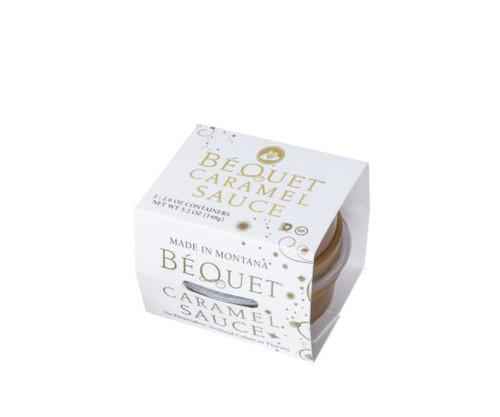 Bequet Caramel Sauce Cups set of 2