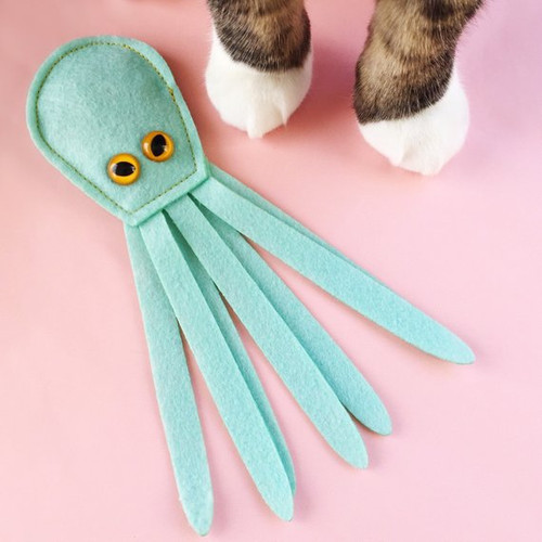 Organic Catnip Kraken Cat Toy by Housecat Club