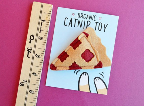 Organic Pie Slice Catnip Toy by Housecat Club