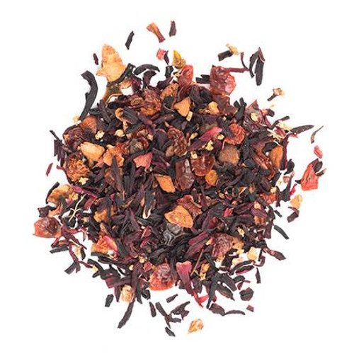 Hibiscus Rosehip Tea Caffeine free by Pinky Up