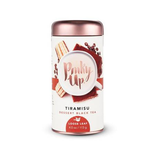 Tiramisu Tea 60-90 mg of Caffeine by Pinky Up