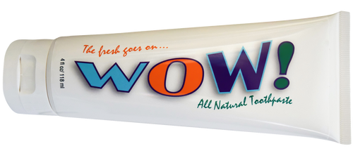 WOW! All Natural Toothpaste