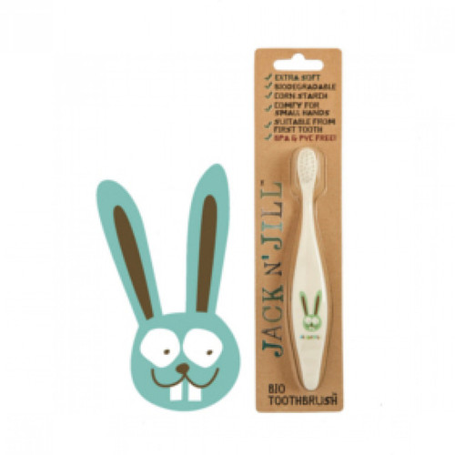 Bunny Biodegradable ToothBrush by Jack N Jill