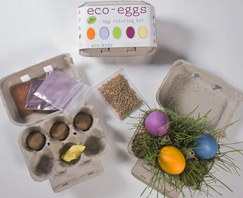 eco-kids eco-eggs coloring kit