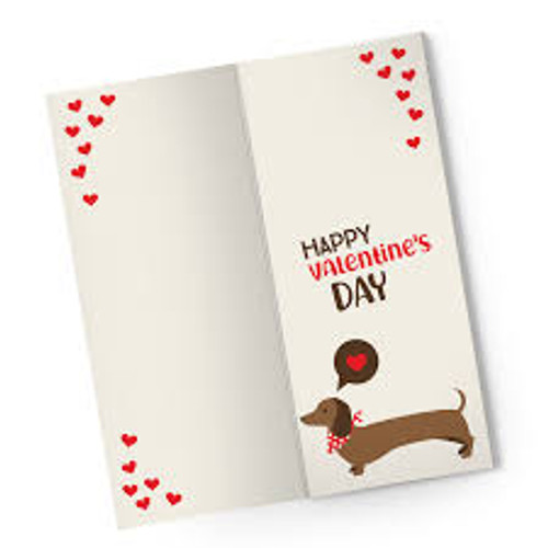 "Valentine's Day Card ""I Love You SoOoO Much"" Card and Chocolate Bar"