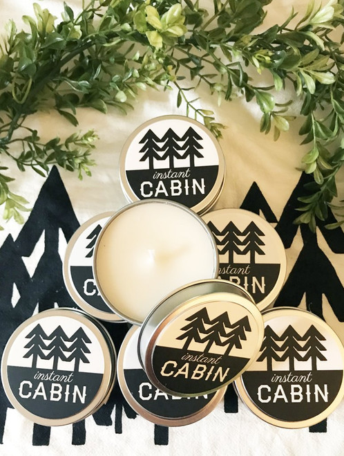 Instant Cabin Scented Candle by The Coin Laundry