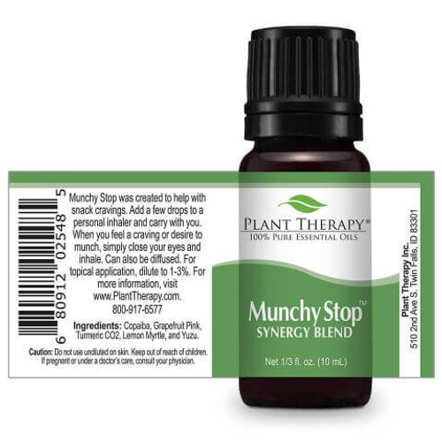Munchy Stop Synergy Essential Oil 10ml by Plant Therapy