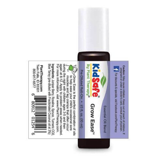 Kidsafe Hocus Focus KidSafe Pre-Diluted  Essential Oil 10 mL Roll On by Plant Therapy