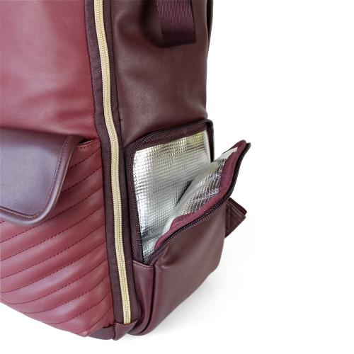 Merlot Boss Backpack by Itzy Ritzy