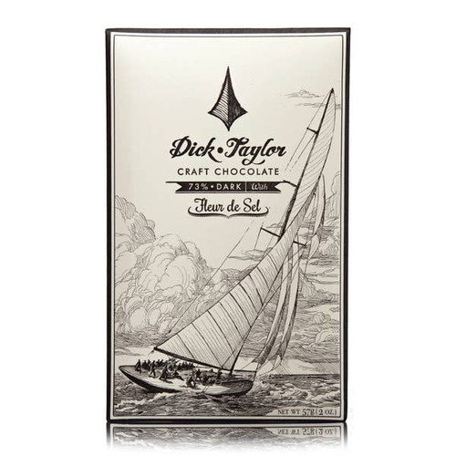 Fleur De Sel Chocolate Dick Taylor Craft Chocolate