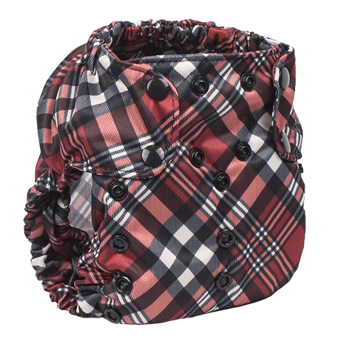 Yule Love This Plaid by Smart Bottoms