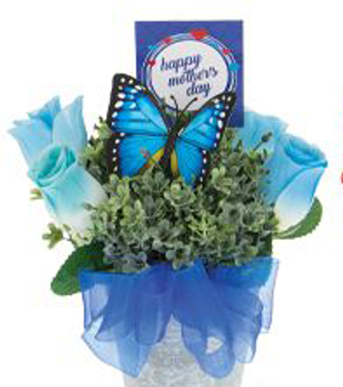 Mother's Day Butterfly Bouquet with Caramels and Mayana