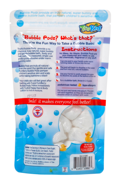 TruKid Bubble Podz Yumberry Scent