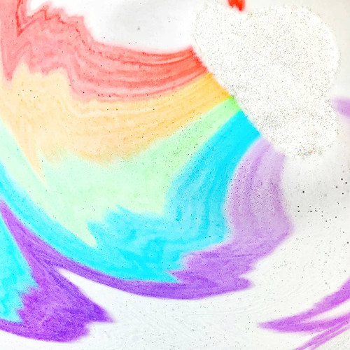 Rainbow Cloud Bath Bomb by Feeling Smitten