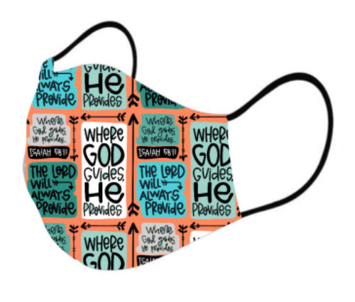ISAIAH 58:11 Face Covering Mask
