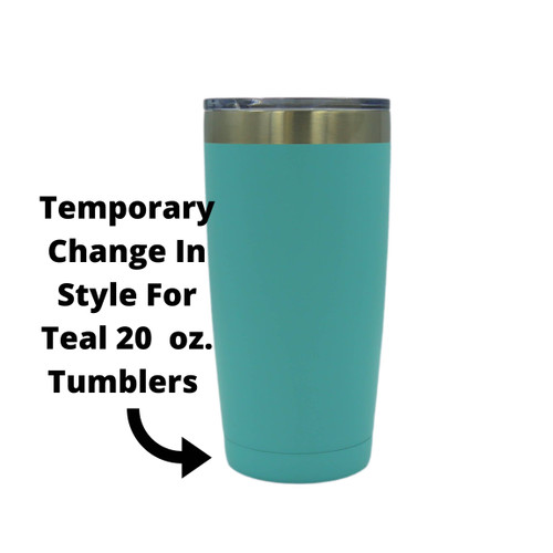 Old & Senile 20 oz Insulated Tumbler Teal