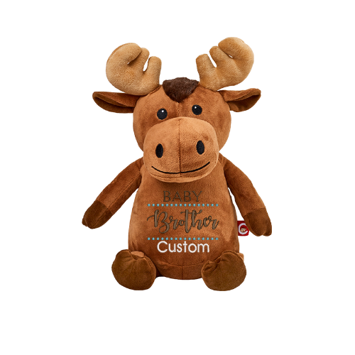 Cubbie Embroidered Moose