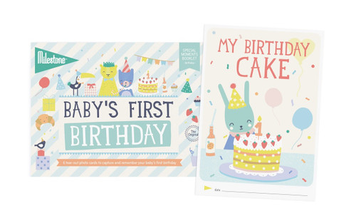 Baby's First Birthday Booklet