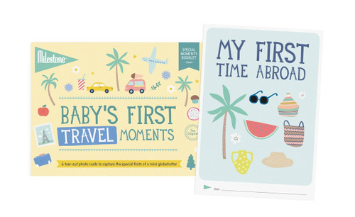 Baby's First Travel Moments Booklet