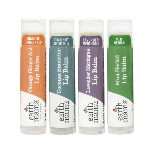 Earth Mama Organics Lip Balm Orange Ginger Aid