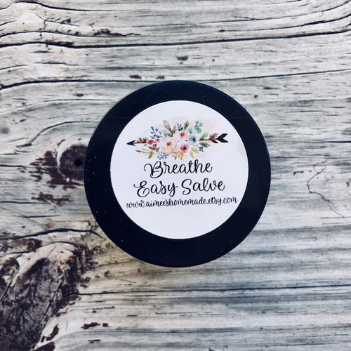 Breathe Easy Cough and Congestion Salve