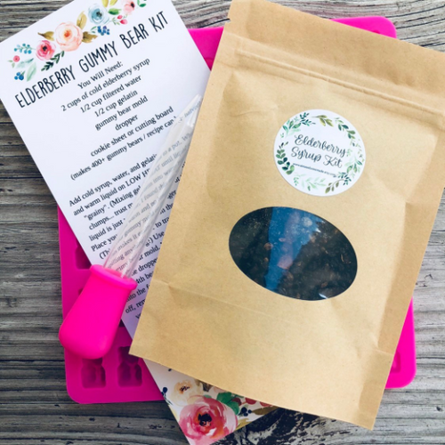 DIY Elderberry Gummy Bear Kit