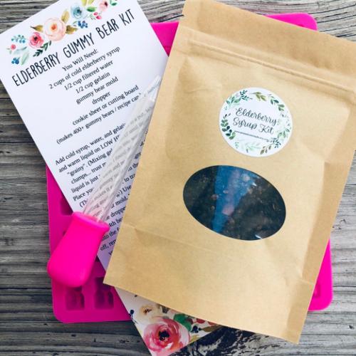 DIY Elderberry Gummy Bear Kit