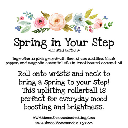 Spring in Your Step Rollerball