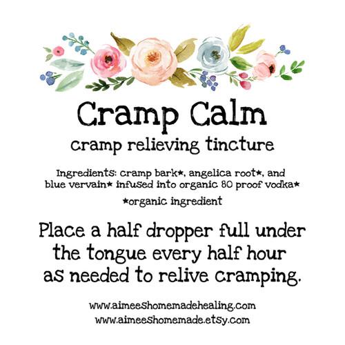 Cramp Calm (cramp relieving tincture)