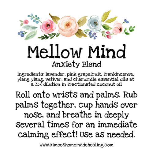 Mellow Mind Anxiety Blend
