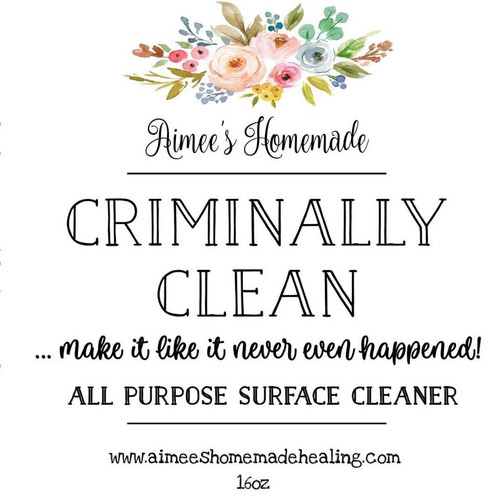 Criminally Clean All Purpose Surface Cleaner